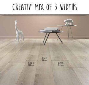 Alsapan - Colección Creativ -6- Mix of 3 Widths