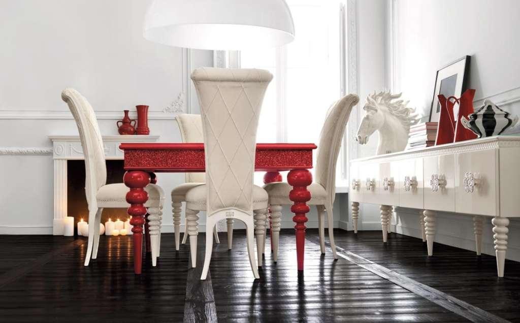 Suelo de madera estilo barroco